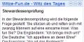 Witz des Tages von Witze-Fun.de